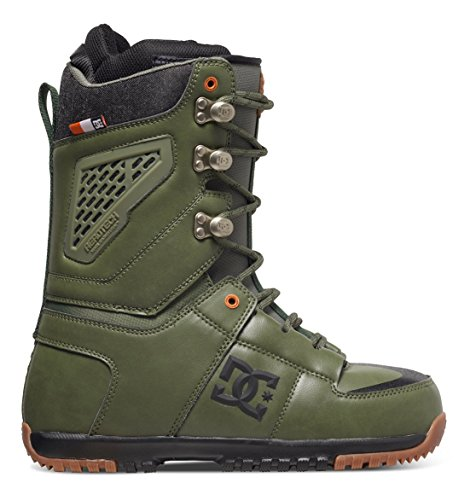 DC Shoes Mens Shoes Lynx - Snowboard Boots - Men - US 9.5 - Green Military Green US 9.5 / UK 8.5 / EU 42.5