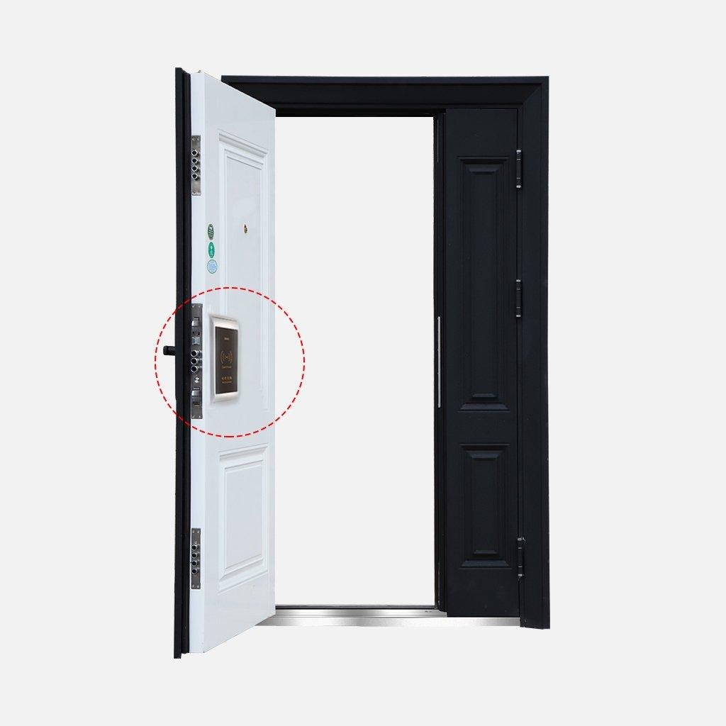 Meiqqm Digital RF EM Sauna Gabinete Locker RFID Lock Tarjeta para Piscina Gimnasio Oficina, Dorado: Amazon.es: Bricolaje y herramientas