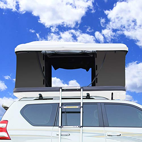 DUTUI SUV-Auto Vollautomatisches Dachzelt, Selbstfahrende Tour Im Freien, Autofreie Geschwindigkeitsöffnung Für Zwei Personen, Schnelles Öffnen in DREI Sekunden,3