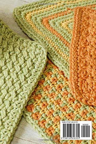 Crochet Washcloth Tutorial: Simple Crochet Washcloth And Dishcloth Ideas: Fun Designs to Brighten Your Kitchen