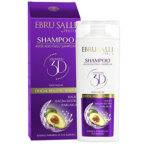 Avocado Öl Shampoo für schnell Fettende Haare Ebru Salli by Thalia