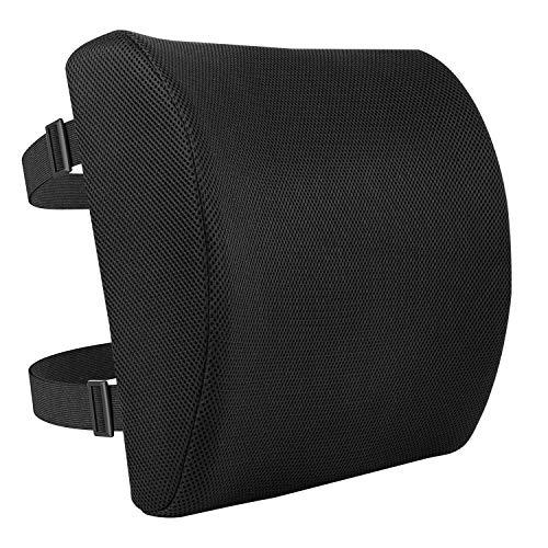 AmazonBasics - Cuscino di supporto per la schiena in memory foam