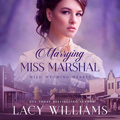 Marrying Miss Marshal audiobook cover art