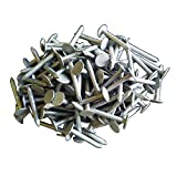 400 Stück Dachpappennägel 2,8 x 30mm Feuerverzinkt Pappnägel Dachpappenstift Schieferstift