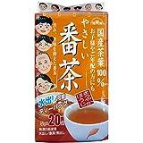 健茶館 国産茶葉やさしい番茶 ティーバッグ 20包入 100g