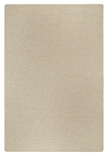 Wollteppich Schurwolle Wolle flauschig natur Uni braun Braun, 80 x 200 cm . Weitere Farben und...