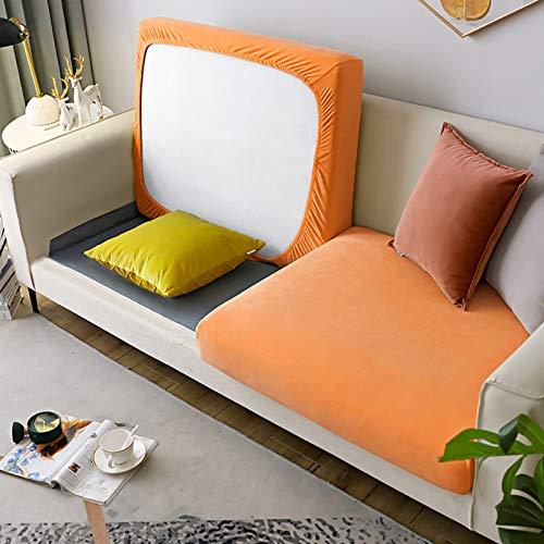 Todo-Incluido Cubierta del Sofá Couch Slipcover,Felpa Cubiertas Seccionales del Sofá Protector,Universal Elasticidad Fundas para Cojines Decoración del Hogar-A M