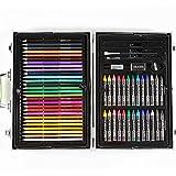 Yhjkvl Art Set de bolígrafos de acuarela, 133 piezas de arte, pintor, acuarela, pintura, dibujo, colorear, manualidades, maestros, aficionados, profesionales y principiantes