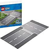 LEGO City Straight and T Junction 60236 Building Kit (2 Pieces)