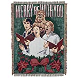 Disney Star Wars, 'Caroling Caroling' Woven Tapestry Throw Blanket, 48' x 60', Multi Color