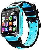Lloow 4G Kids GPS Tracker Smart Watch Smart Watch Caméra IP67 1.54'Écran Tactile GPS WiFi LBS Lieu SOS Call Child Montre Perfect Cadeau Smartwatches,D
