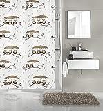 Kleine Wolke x Duschvorhang, Polyester, Mehrfarbig, 180 x 200 cm