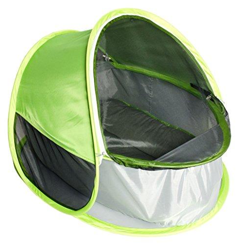 Bieco 37-000100 - POP-UP Baby Reisebett mit UV- und Insektenschutz, Strandmuschel
