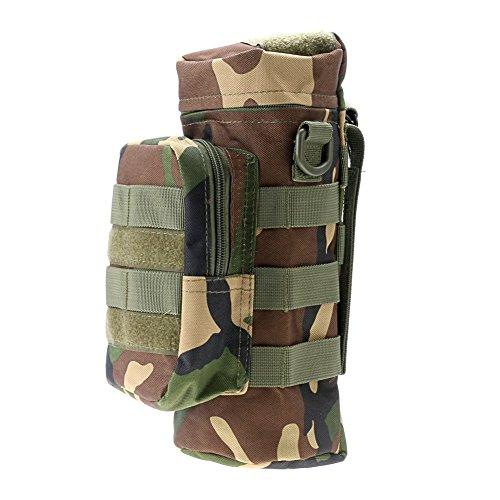ruifu Sniper EDC tactique extérieur Pochette pour bouteille d'eau Molle Jungle Camouflage