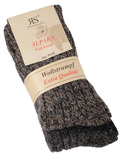 socksPur Socks Pur alpaca wollstrumpf Nature Pur 2unidades