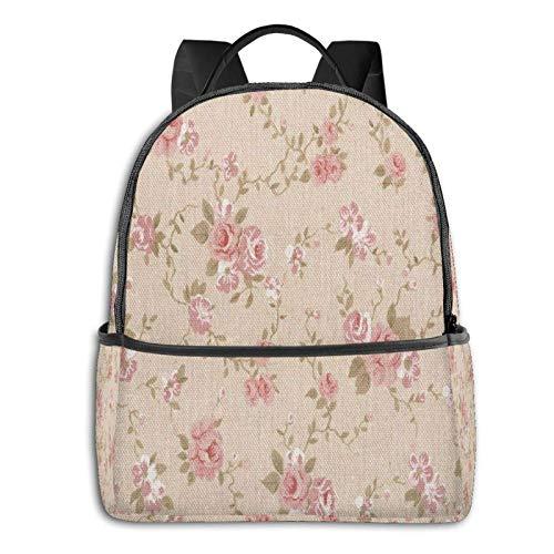 AOOEDM Backpack Large Backpack Yellow Lemon On Beige Laptop Travel School College Backpacks Bag