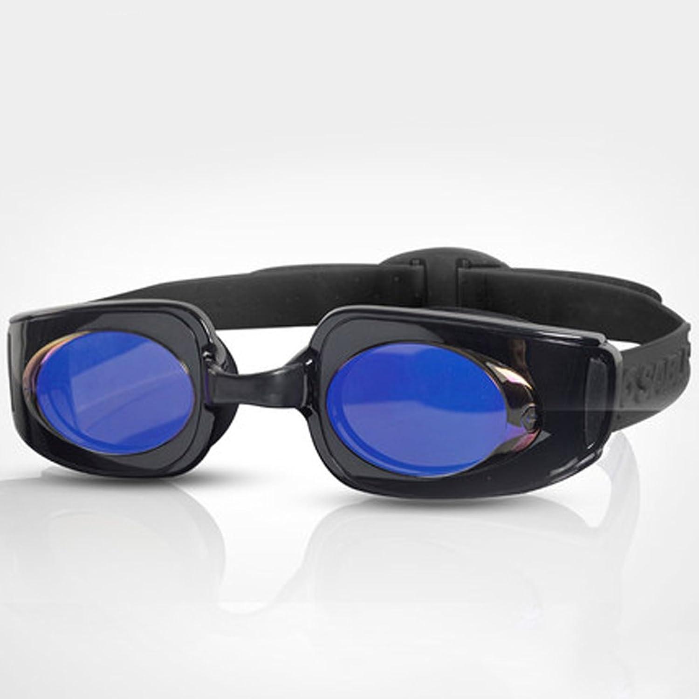 LE Flat light swimming glasses waterproof and anti-fog HD swimming glasses unisex coating