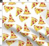 Pizza, Wasserfarben, Essen, Peperoni, Käse, Italienisch,