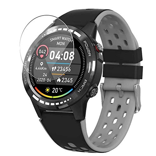 Vaxson 3 Stück Schutzfolie, kompatibel mit Naturehike M7 M7C Smartwatch smart watch, Displayschutzfolie TPU Folie [ nicht Panzerglas ]