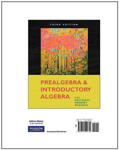Prealgebra and Introductory Algebra, Books a la Carte Edition (3rd Edition)