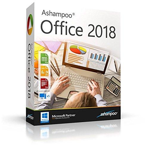 Ashampoo Office 2018 WIN (Product Keycard ohne Datenträger) - 5 PC