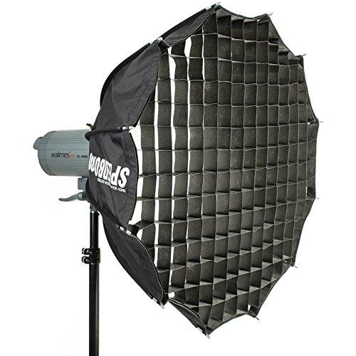 SMDV Honeycomb Grid 43 Grad Klett-Wabengitter (Wabenvorsatz, Wabeneinsatz) für Speedbox-70 Aufsteckblitz-Softbox