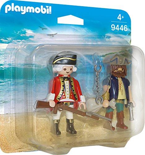 Playmobil 9446 - Duo Pack Pirat und Soldat Spiel