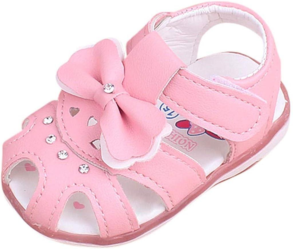 supreme Beach Sandals for Princess 5% OFF Baby Girls Flat Lighting Flower C LED