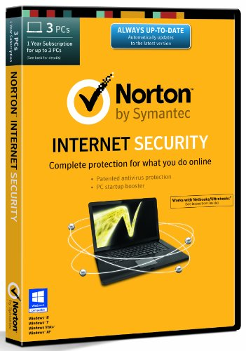 Norton Internet Security 21.0 - 3 Computers - 1 Year Subscription [import anglais]