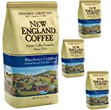 New England Coffee Blueberry Cobbler Medium Roasted Ground Coffee