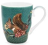 PiP Studio Mug Large Winter Wonderland Squirrel Green 350ml