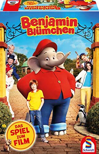 Schmidt Spiele 40589 Benjamin Blümchen, Das Spiel Zum Film, Bunt - Juego...