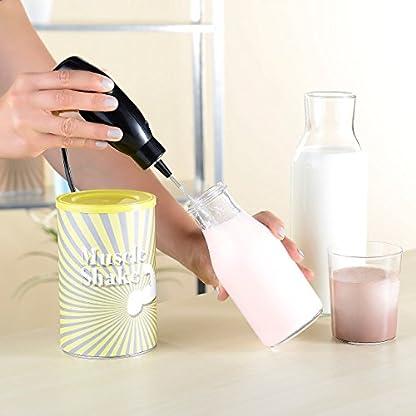 Rosenstein-Shne-Elektrischer-Rhrbesen-Elektrischer-Quirl-Mini-Handmixer-mit-Mixbecher-Aufsatz-15-Watt-Frappe-Handmixer