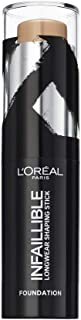 L'Oreal Paris Infallible Shaping Stick Foundation - 210 Cappuccino, 9 gm