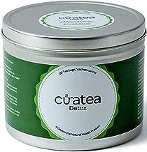 Curatea Detox Tea , 30 Tea Bags , Detox Tea for Belly Fat , Flat Tummy Tea , Detox Tea Cleanse , Body Cleanse Detox for Women & Men , Detox Tea For Body Cleanse  