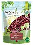 Organic Dried Cranberries, 2 Pounds — Non-GMO, Kosher, Unsulfured, Bulk