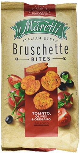Maretti Bruschette Chips - Tomato, Olives & Oregano, Brotchips Tomate, Olive und Oregano - Bruschetta Chips - 150g