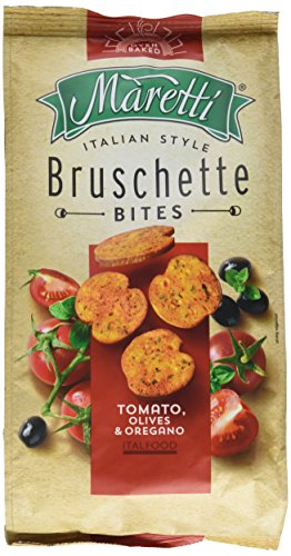 Maretti Bruschette Chips - Tomato, Olives & Oregano, Brotchips Tomate, Olive und Oregano - Bruschetta Chips - 150g