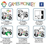 Zoom IMG-2 gamesmonkey adesivi stickers kit ducati