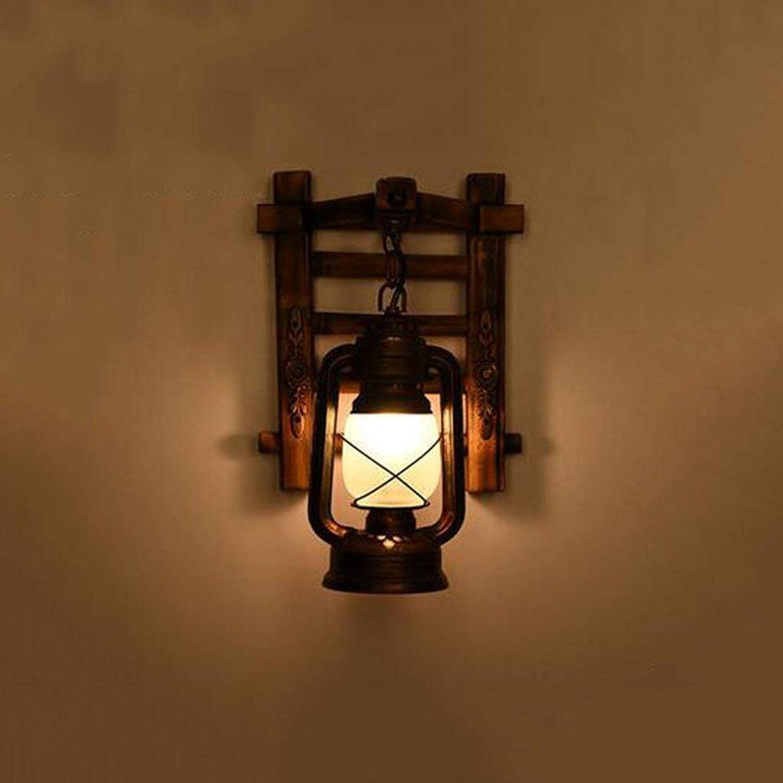 Holz- amerikanischen Dorf alte Skandinavische wand Licht wandeln, cafe bar - Energieeffizienz