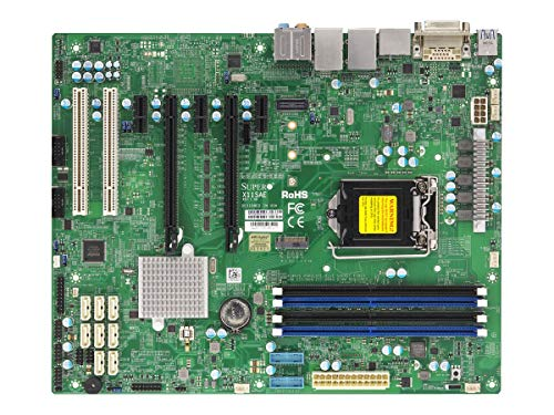 Supermicro X11SAE server/workstation motherboard LGA 1151 (Presa H4) Intel® C236 ATX