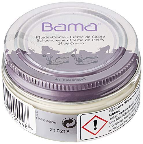 Bama Unisex Bama Pflegecreme 50 Ml Creme-Weiß Schuhpflegeprodukt, CremeWeiß, ml EU