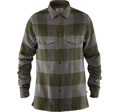 FJÄLLRÄVEN Herren Shirt Canada, Deep Forest, M, 90631-662