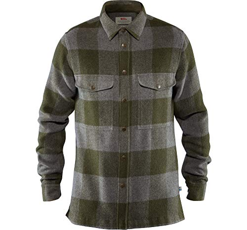 Fjällräven Herren Shirt Canada, Deep Forest, L, 90631-662