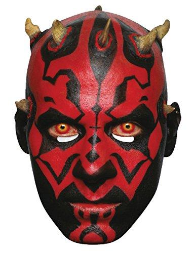 Generique - Star Wars Pappmaske Darth Maul Lizenzprodukt hautfarben