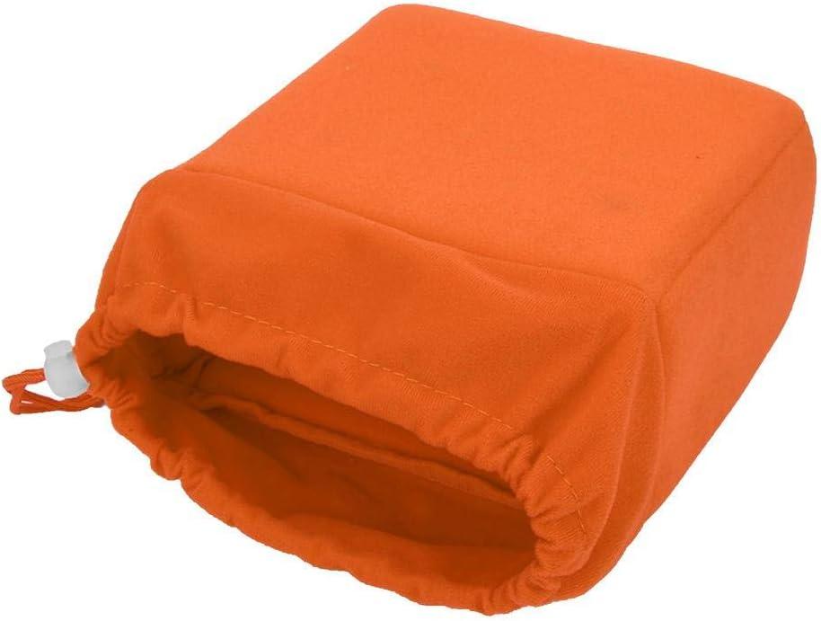 Orange Bigking Sac dinsertion dappareil Photo Sac dinsertion dobjectif dappareil Photo Reflex num/érique /étanche Antichoc /étui rembourr/é avec Cordon de Serrage