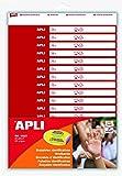 APLI Kids- Pack de 32 brazaletes identificativos con 2 hojas, 12523)