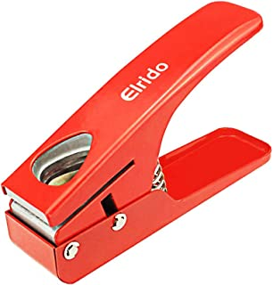 Guitar Pick Cutter Punch DIY Guitar Picks Puncher Perfectly Cut Guitar Pick Maker Punch Every Time Cutter Professional Red by Elrido