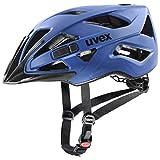 uvex Touring CC Casco de Bicicleta, Unisex-Adult, Blue Mat, 52-57 cm