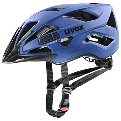 uvex Unisex– Erwachsene Touring cc Fahrradhelm, Blue mat, 56-60 cm